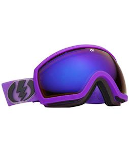 Electric EG2.5 Goggles Royal Purple Matte/Bronze/Blue Chrome Lens