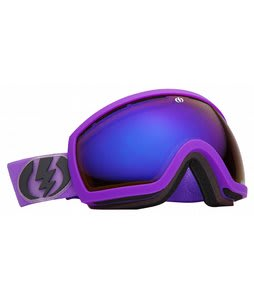 Electric EG2.5 Goggles Royal Purple Matte/Grey/Blue Chrome Lens