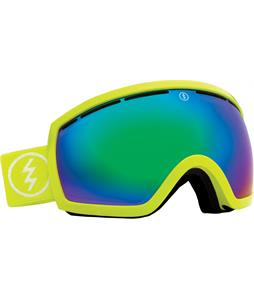 Electric EG2.5 Goggles Toxic Snot/Grey/Green Chrome Lens
