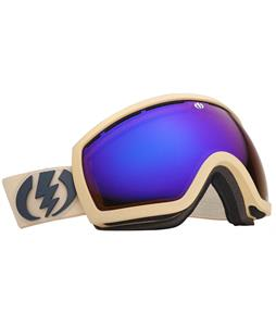 Electric EG2.5 Goggles Armor Sand Matte/Bronze/Blue Chrome Lens