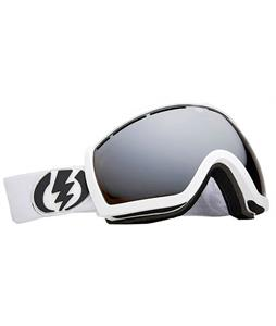 Electric EG.5S Goggles Gloss White/Bronze/Silver Chrome Lens