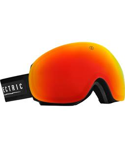 Electric EG3 Goggles Gloss Black/Bronze/Red Chrome And Bonus Lens