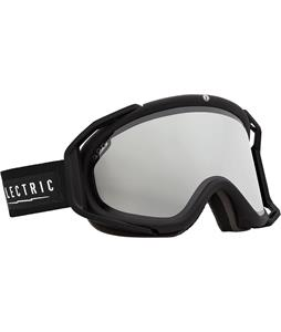 Electric EG3 Goggles Gloss Black/Bronze/Silver Chrome And Bonus Lens