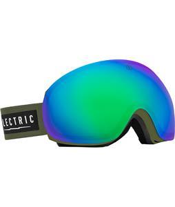 Electric EG3 Goggles Irie Bronze/Green Chrome And Bonus Lens