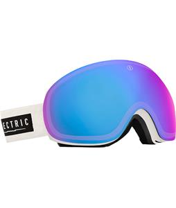 Electric EG3 Goggles White Tropic/Rose/Blue Chrome And Bonus Lens