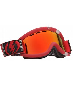 Electric EG.5 Goggles Rids Cheryl Maas/Bronze/Red Chrome Lens
