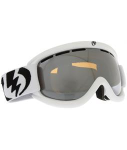 Electric EG.5S Goggles Gloss White/Bronze/Silver Chrome Lens