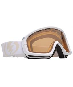 Electric EGB Goggles Gloss White/Orange Lens