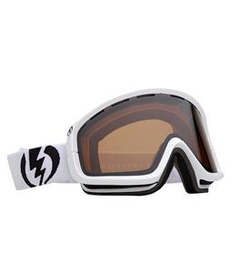 Electric EGB2 Goggles Gloss White/Bronze Lens