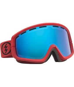 Electric EGB2 Goggles Brick/Bronze/Blue Chrome And Bonus Lens