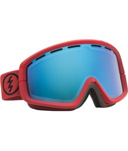 Electric EGB2 Goggles Brick/Grey/Blue Chrome + Bonus Lens