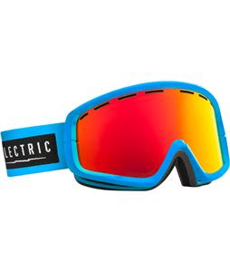 Electric EGB2 Goggles Code Blue/Bronze/Red Chrome Lens
