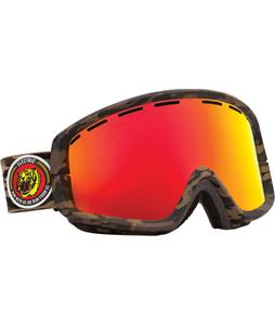Electric EGB2 Goggles Combat Camo/Bronze/Red Chrome + Bonus Lens