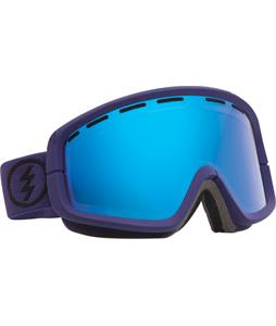 Electric EGB2 Goggles Dark Knight/Grey/Blue Chrome + Bonus Lens