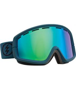 Electric EGB2 Goggles Dark Seas/Bronze/Green Chrome + Bonus Lens