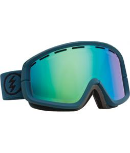 Electric EGB2 Goggles Dark Seas/Grey/Green Chrome + Bonus Lens