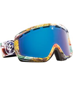 Electric EGB2 Goggles East Side/Bronze/Blue Chrome And Bonus Lens