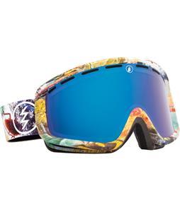 Electric EGB2 Goggles East Side/Bronze/Blue Chrome And Bonus Lens