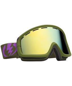 Electric EGB2 Goggles Field Drab Matte/Bronze/Gold Chrome Lens