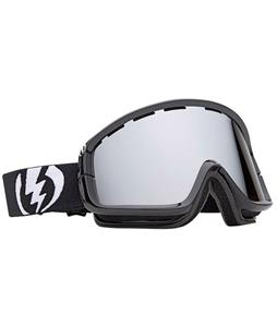 Electric EGB2 Goggles Gloss Black/Blue/Silver Chrome Lens
