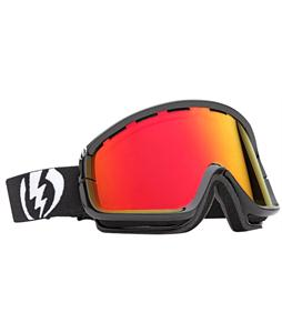 Electric EGB2 Snowboard Goggles Gloss Black/Bronze/Red Chrome Lens
