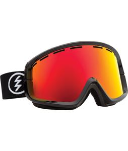 Electric EGB2 Goggles Gloss Black/Bronze/Red Chrome And Bonus Lens