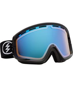 Electric EGB2 Goggles Gloss Black/Yellow/ Blue Chrome + Bonus Lens