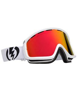 Electric EGB2 Goggles Gloss White/Bronze Red Chrome Lens