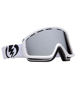Electric EGB2 Goggles Gloss White/Bronze/Silver Chrome Lens