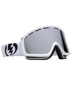 Electric EGB2 Snowboard Goggles Gloss White/Bronze/Silver Chrome Lens