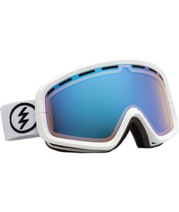 Electric EGB2 Goggles Gloss White/Yellow/ Blue Chrome + Bonus Lens