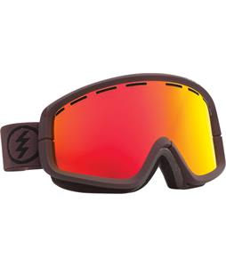 Electric EGB2 Goggles Mississippi Mud/Bronze/Red Chrome + Bonus Lens