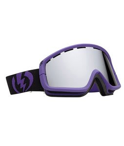 Electric EGB2 Goggles Matt Violet/Bronze/Silver Chrome Lens