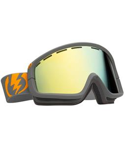 Electric EGB2 Goggles Panzer Grey Matte/Grey/Gold Chrome Lens