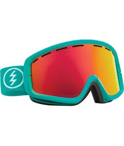 Electric EGB2 Goggles The Real Teal/Grey/Red Chrome + Bonus Lens