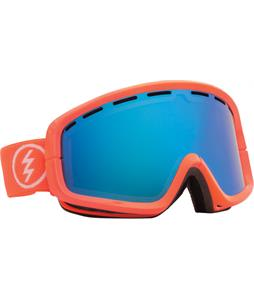 Electric EGB2 Goggles Salmonella/Bronze/Blue Chrome And Bonus Lens