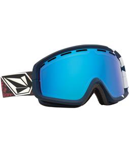 Electric EGB2 Goggles V.Co Lab/Bronze/Blue Chrome And Bonus Lens