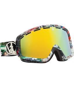 Electric EGB2 Goggles West Side/Bronze/Gold Chrome And Bonus Lens