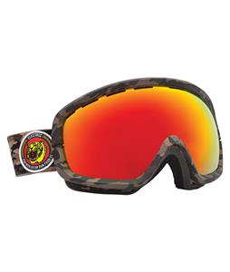Electric EGB2S Goggles Combat Camo/Bronze/Red Chrome Lens