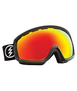 Electric EGB2S Goggles Gloss Black/Blue/Silver Chrome Lens