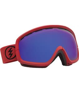Electric EGB2S Goggles Brick/Bronze/Blue Chrome Lens