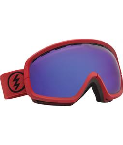 Electric EGB2S Goggles Brick/Grey/Blue Chrome Lens