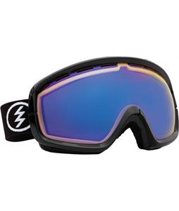 Electric EGB2S Goggles Gloss Black/Yellow/ Blue Chrome Lens