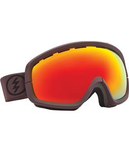 Electric EGB2S Goggles Mississippi Mud/Bronze/Red Chrome Lens