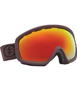 Electric EGB2S Goggles Mississippi Mud/Grey/Red Chrome Lens