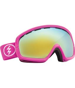 Electric EGB2S Goggles Punk Pink/Grey/Gold Chrome Lens