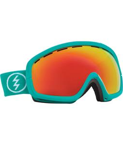 Electric EGB2S Goggles The Real Teal/Grey/Red Chrome Lens