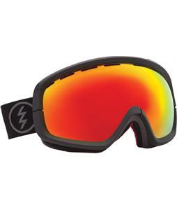 Electric EGB2S Goggles Solar/Bronze/Red Chrome + Bonus Lens