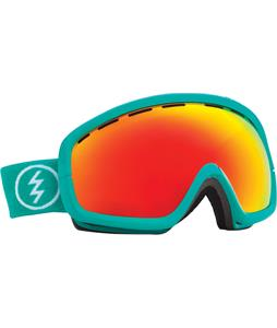 Electric EGB2S Goggles The Real Teal/Bronze/Red Chrome Lens