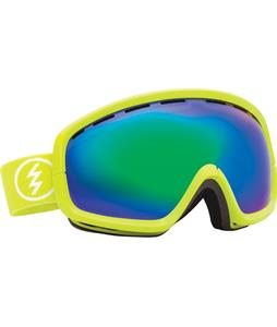 Electric EGB2S Goggles Toxic Snot/Bronze/Green Chrome Lens